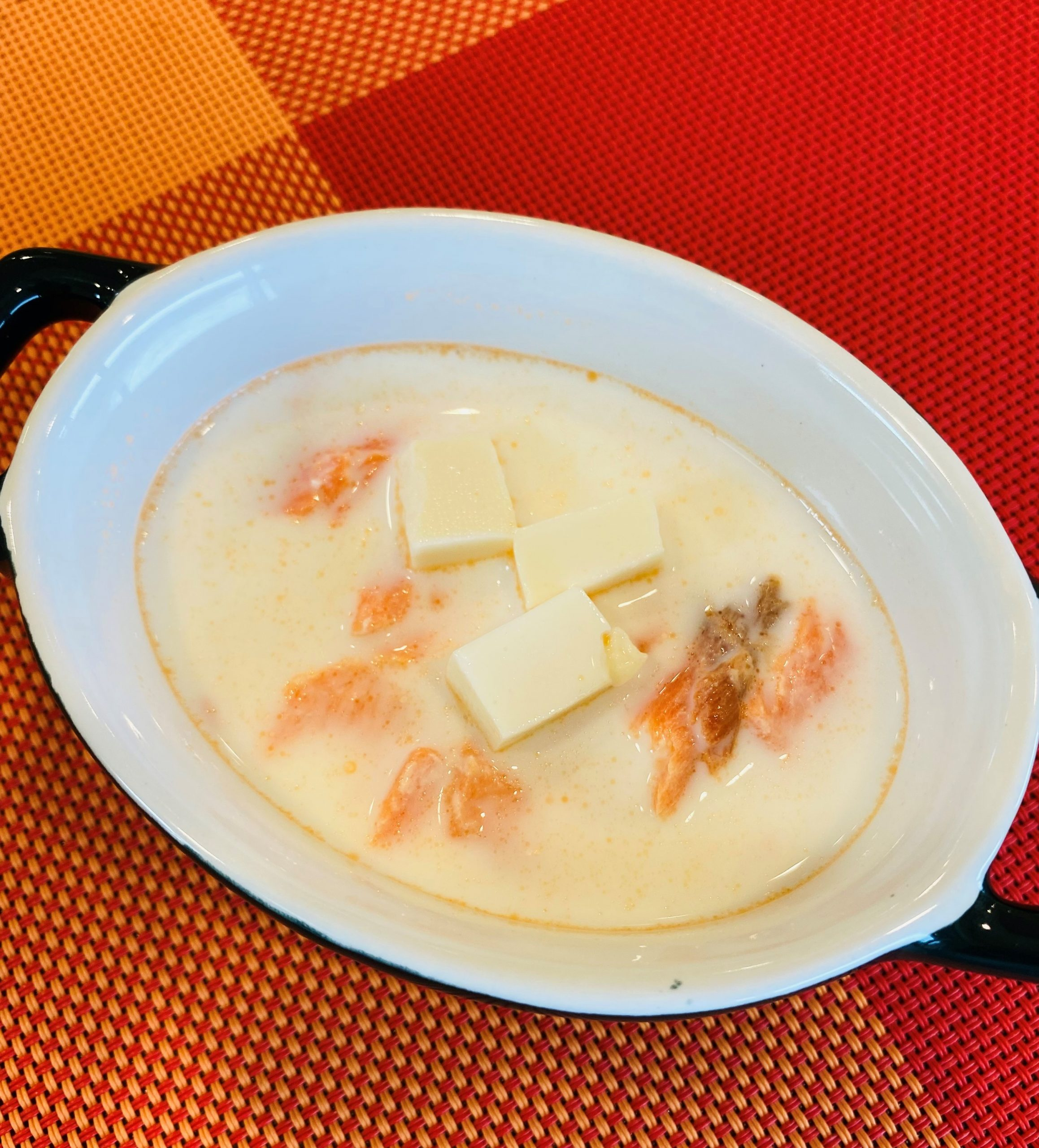 鮭と豆腐のミルク煮(離乳食7ヶ月ごろ~) イメージ